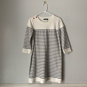 THML Striped Tunic Red Button Size S